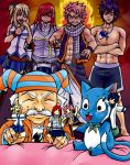 Fairy Tail- Finger Puppets by Elf-chuchu