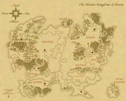 The Norden Kingdoms of Harne by Lemming-Zack