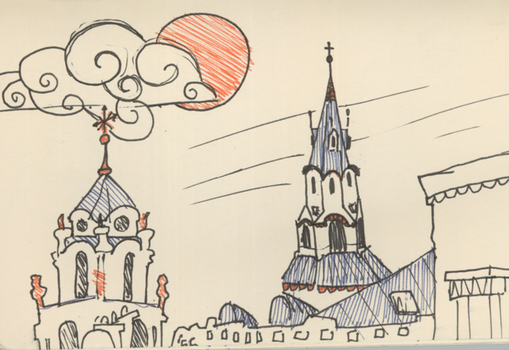 Vilnius by Yisay