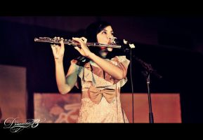 with flute by dinonino