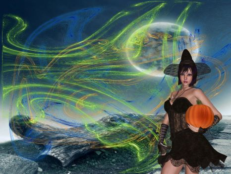 Witchy Woman by Xerxes61