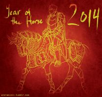 Year of the Horse 2014 by aleramicci