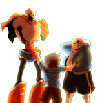 [UNDERTALE SPOILERS] SAVE your friends by BITEGHOST