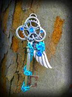 Massive Gate Keepers Key by ArtByStarlaMoore