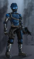 Basic Exhuman foot soldier by CivilWar-OCT