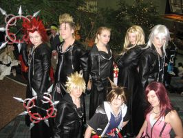 Kingdom Hearts Cosplay by darksamuraiwarrior