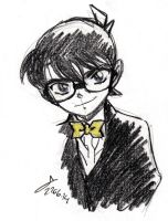 DC: Black and Yellow doodle by ShinRedDear