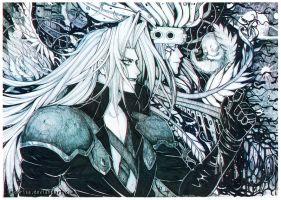 Sephiroth - Destroyer by Midorisa
