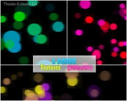 3 Bokeh Textures by Thoxiic-Editions
