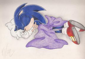 Sonic Sleeping by SonicBornAgain