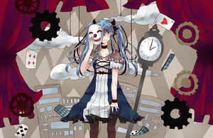 karakuri pierrot by HastySkitty456