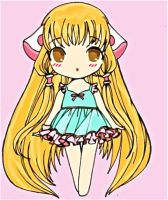 Chibi Chii by doll-fin-chick