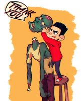 ParaNorman - head problems by Misspingu