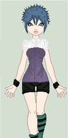 Adoptable OC 1 (30 Points) OPEN by Kat-and-Raven-ADOPTS