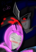 Reign and Eurodancer by ToniMizukiPrime
