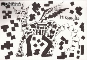 MissingNo linework by chris9801