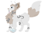 Arctic Wolf by SnowyGryphon
