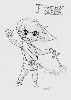 Wind Waker Link by Floraski