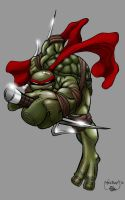 Out of Darkness-Raph by scribblesartist