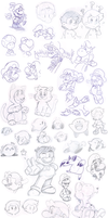 Doodles 4 by Nintendrawer