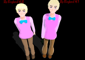 -MMD Newcomer- 2P!England V2 by snips800