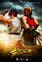 Street Fighter Legacy Poster by hyzak