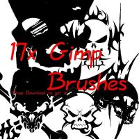 Gimp Brushes by V1N3