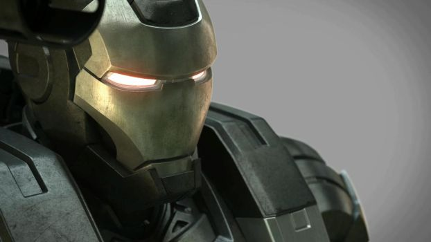Iron Man and War Machine by wzxhdl520