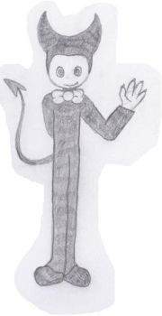 how i draw Bendy by cindercat01