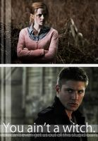 You Ain't A Witch - Supernatural and HP crossover by sabrestar