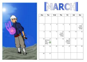 MT Calender: March by Manga-Tutorials