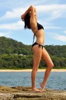 Teigan - black bikini pose 1 by wildplaces