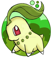 Chikorita by OminousOniBi