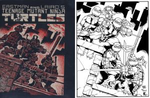 TMNT Ode to Kevin Eastman by MichaelWKellarINKS