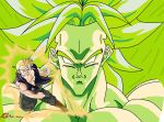 Angers vs. Broly by angers