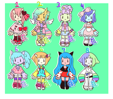 Sugary Cute Adopts [1/10 OPEN] by hello-planet-chan