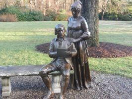 James and Dolley Madison by Flaherty56