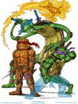 Line is Drawn, Wk 233 TMNT mashed up with FF by narfboy