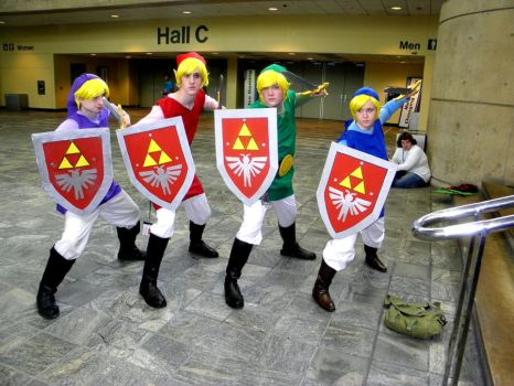 Otakon 2011 - The Four Swords by mugiwaraJM