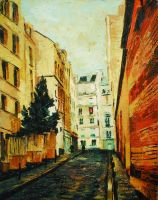 Montmartre with Spruce, Montmartre, Paris (2014) by danielcormier