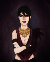 Morrigan by frafi