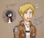 Armin's Haircut by Sanraia