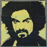 Caparezza (on post-its) by Neon55555