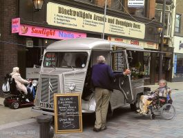 Vintage Citroen truck by Stumm47