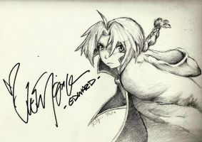 Ed for Vic -Signed- by Ahkward