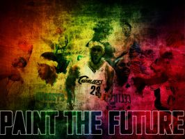 Paint The Future: NBA by jb10rvd