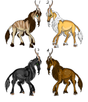 Unicorn Adopts (1 opened back up) by Artha-Adopts