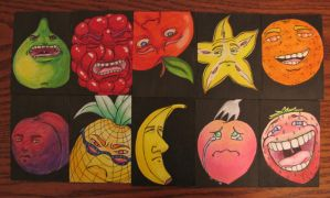 Fruit Cards by thewavertree