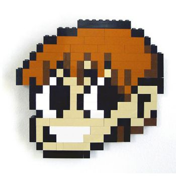 LEGO Scott Pilgrim 1Up by gloriouskyle