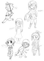 Sketches 7 by Shazams